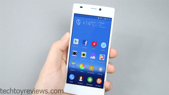 Gionee ELIFE S5.5 - World Slimmest Phone