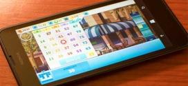 Microsoft Bingo App for Window Phone