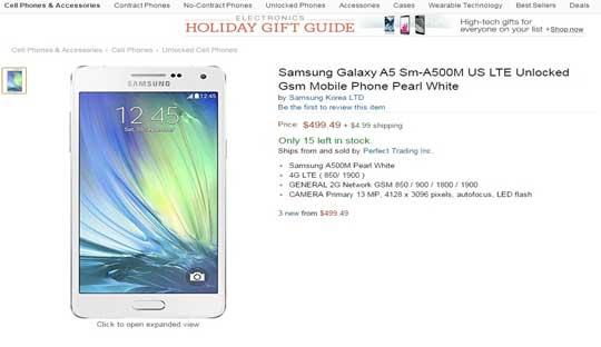 Buy Samsung Galaxy A5