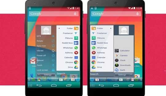 Windows Start Menu on Android