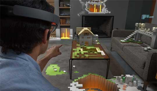 Hololens-virtual-reality-glasses