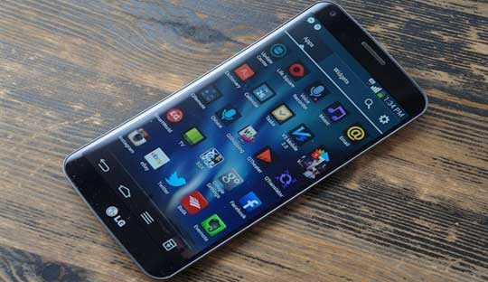 LG G Flex 2 with curved screen will be announced CES 2015