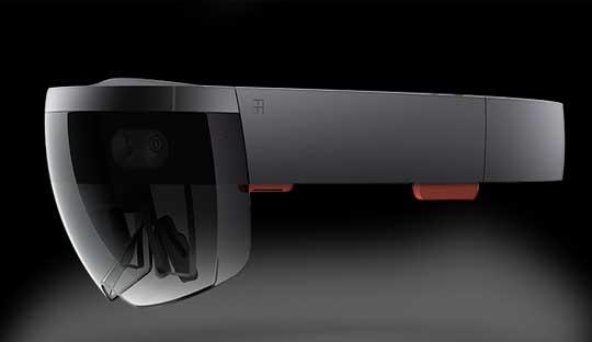 Microsoft-Hololens--A-virtual-reality-glasses-running-Windows-10