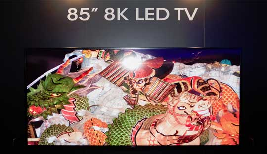 Sharp 8K TV Price