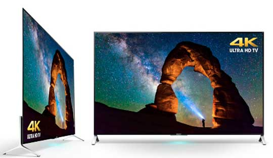 Sony 4K TV - Bravia 4K TV Series with New Android TV Platform at CES 2015