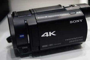 Sony FDR-AX33 Handycam Camcorder with 4K recording unveil at CES 2015
