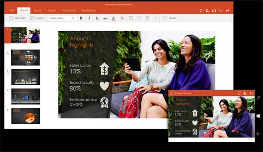 Microsoft-PowerPoint-Touch-Windows-10
