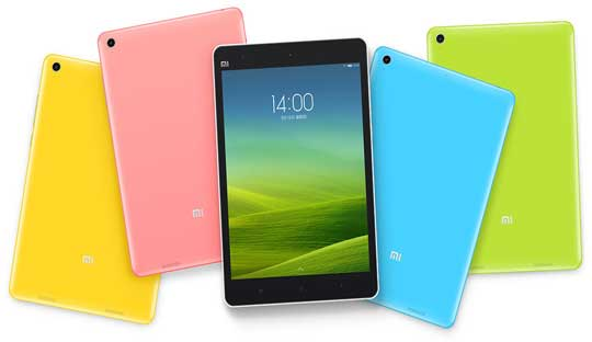 Xiaomi Mi Pad with Nvidia Tegra K1 Chip and 7.9-inch ...