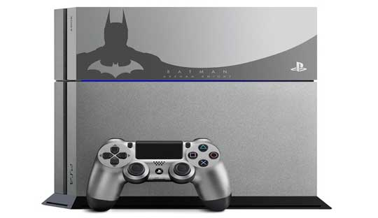 Sony-launches-limited-edition-Batman--Arkham-Knight-PlayStation-4