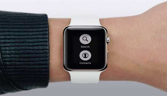 Apple Watch received the first firmware update: Watch OS 1.0.1