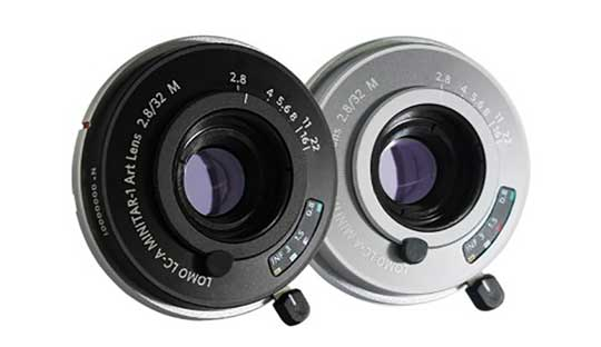 Lomography introduces Lomo LC-A Minitar-1 Art 2.8/32mm lens for Leica M mount