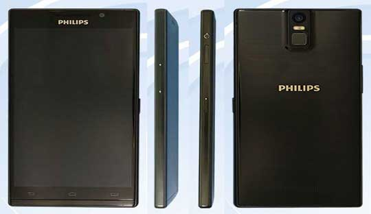Philips-i999-with-2K-display-and-fingerprint-scanners