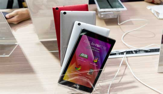 Asus ZenPad C 7.0 vs ZenPad 7.0 vs ZenPad 8.0 vs ZenPad 10 Speficiations Comparsion