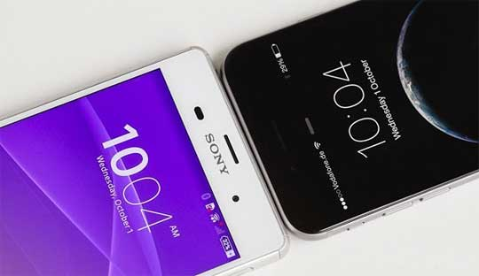 Sony-Xperia-Z3+-Vs-iPhone-6--Specifications-Comparasion