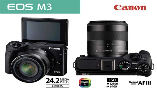 Canon EOS M3 Release Date US