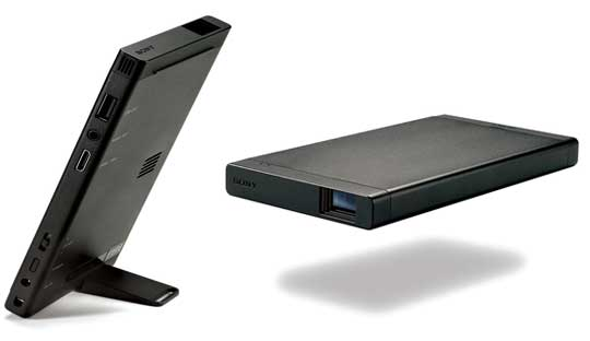 Sony Portable Projector for Playstation 4 unveiled