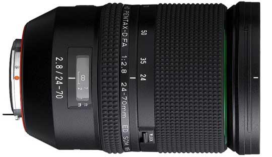 PENTAX D FA 24-70mm f2.8ED