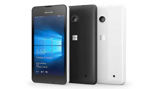 Microsoft Lumia 550 India
