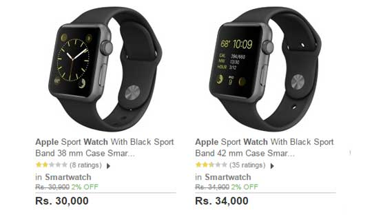 Apple Watch in India