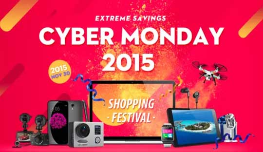GearBest Cyber Monday 2015 Deals