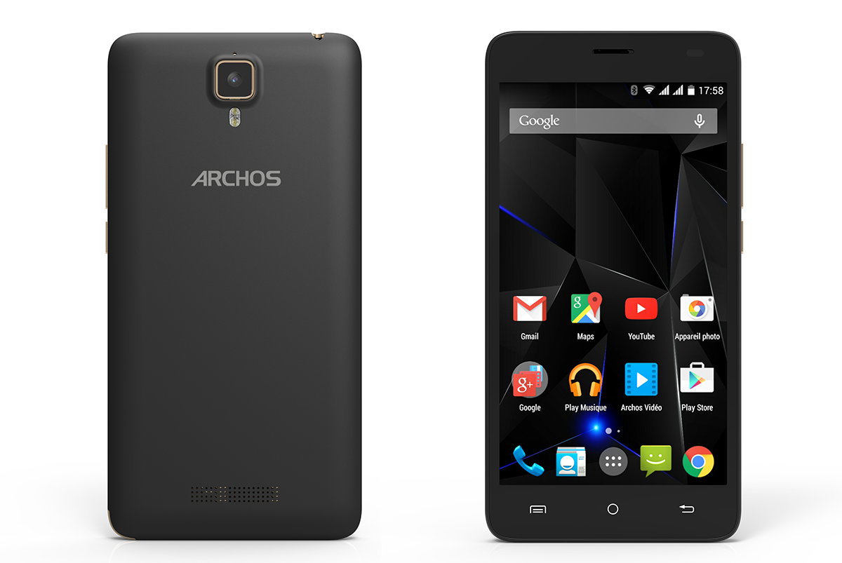 Archos 50d Oxygen Specifications