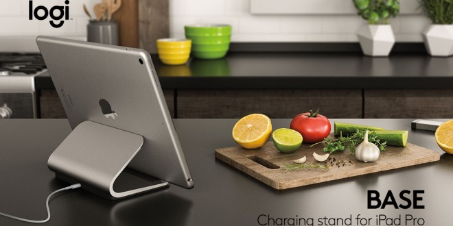 Logi Base Charging Stand With Smart Connector For Ipad Pro Review