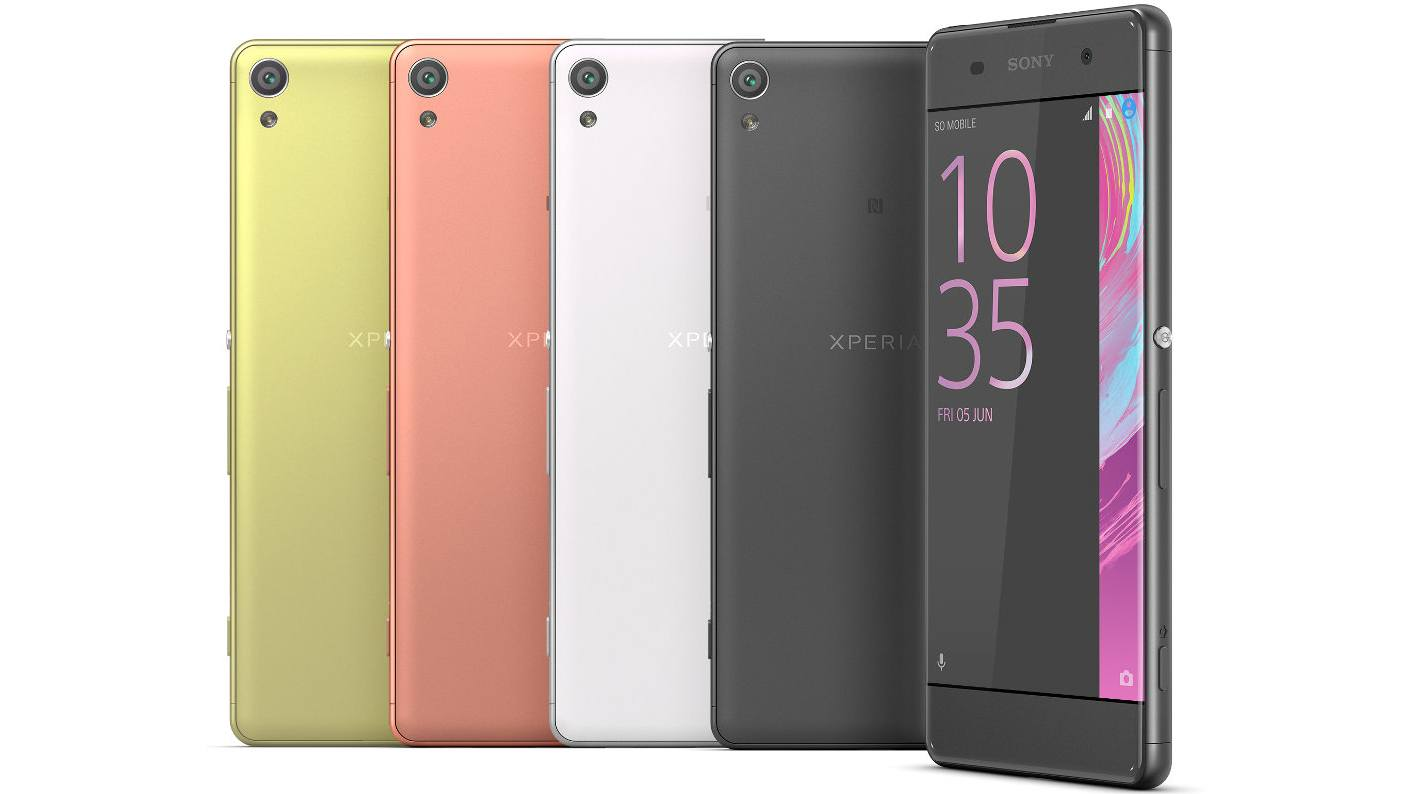 sony xperia xa price in usa specifications and availability. Black Bedroom Furniture Sets. Home Design Ideas