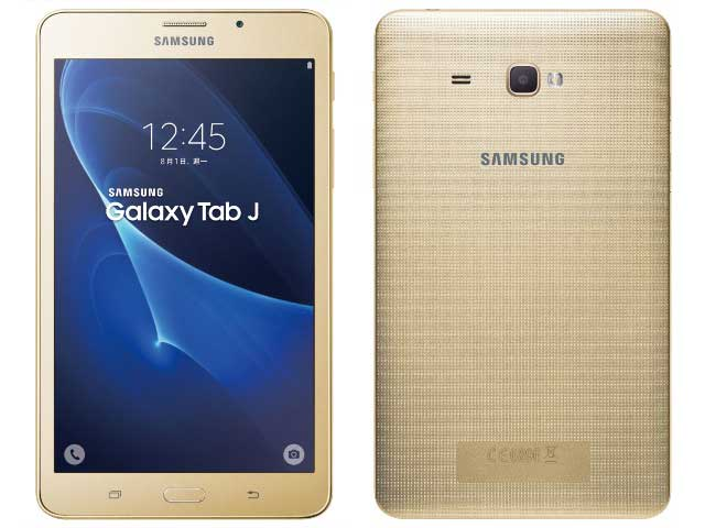 Samsung galaxy tab j 7 0 inch tablet goes official in taiwan for Samsung galaxy j tablet