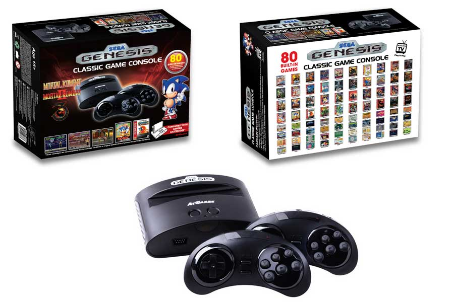 SEGA Genesis Handheld Game