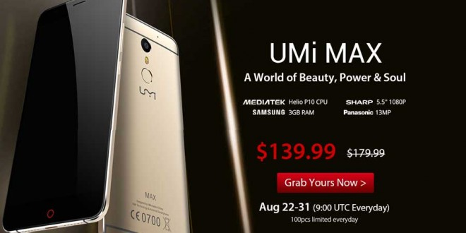 UMi Max Seizes the Opportunity from iPhone's Mistake