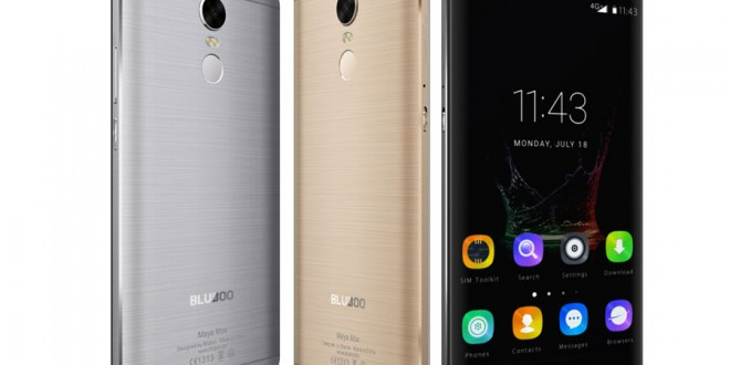 Bluboo Maya Max with 6 inch Display, 3GB RAM and Fingerprint Sensor, Priced at $139
