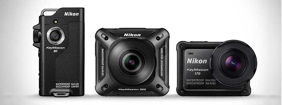 Nikon KeyMission 80, 360, 170 Action Cameras Pricing and Availability