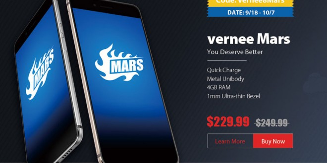 Exclusive Vernee Mars Coupon Offer: Limited Units and Time