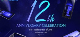 Best Tablet Deals 2016 With GearBest on Chuwi's 12th Anniversary Celebration