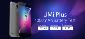 UMi Plus Battery Tests: Amazing Real-life Performance