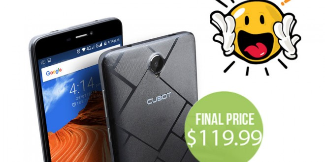 Cubot Max Gets a Temporary Price Cut to $119.99, Limited Stock