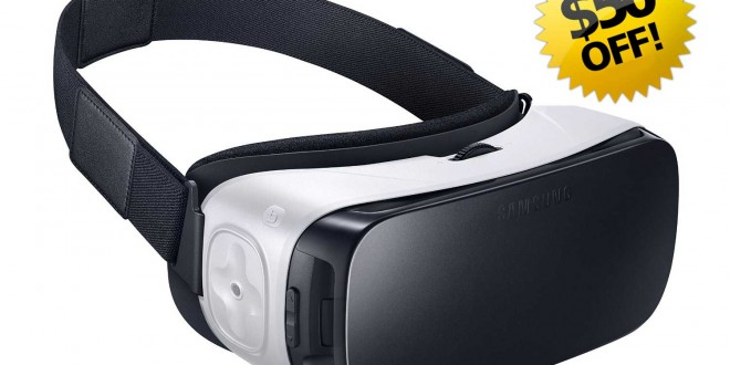 Amazon Offers $50 Discount on Samsung Gear VR Headset