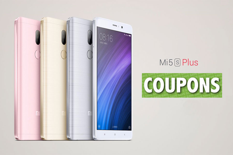 Xiaomi Mi5s Plus Coupon