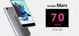 Vernee Mars to get Android 7.0 on 6th December!