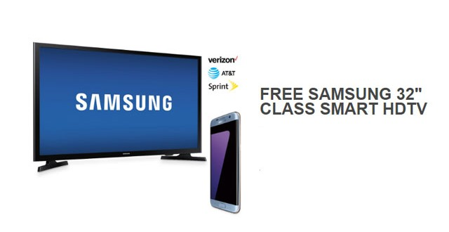 BestBuy Offers Free Samsung TV With Galaxy S7, S7 Edge Purchase