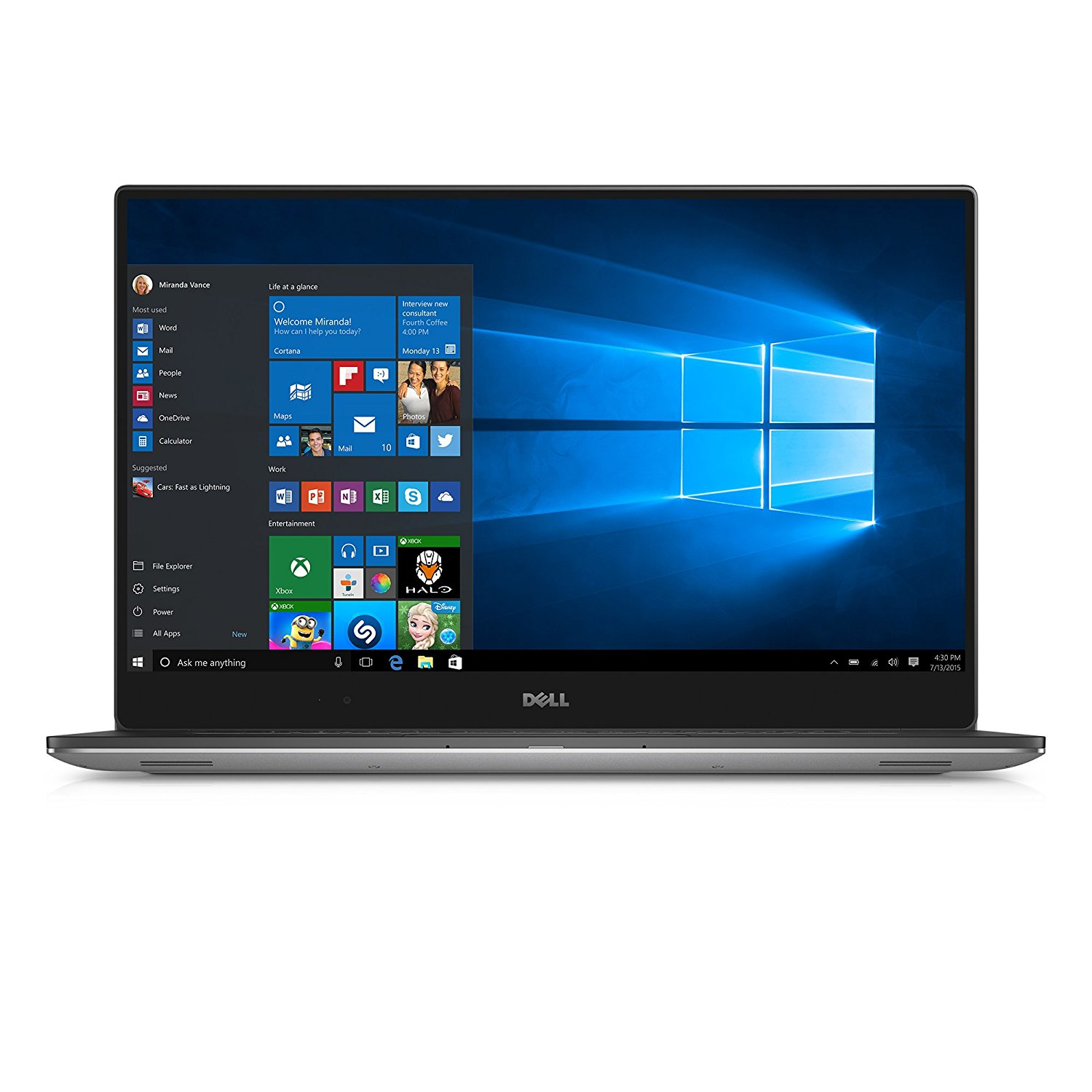 Dell XPS 15 Touch i7