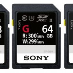 Sony SF-G UHS II SD card