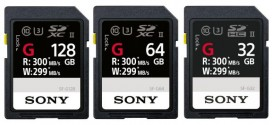 Sony SF-G UHS-II released as fastest SD-card in the World