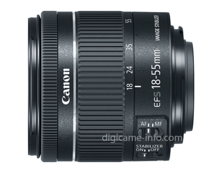 Canon EF-S 18-55mm F4-5.6 IS STM