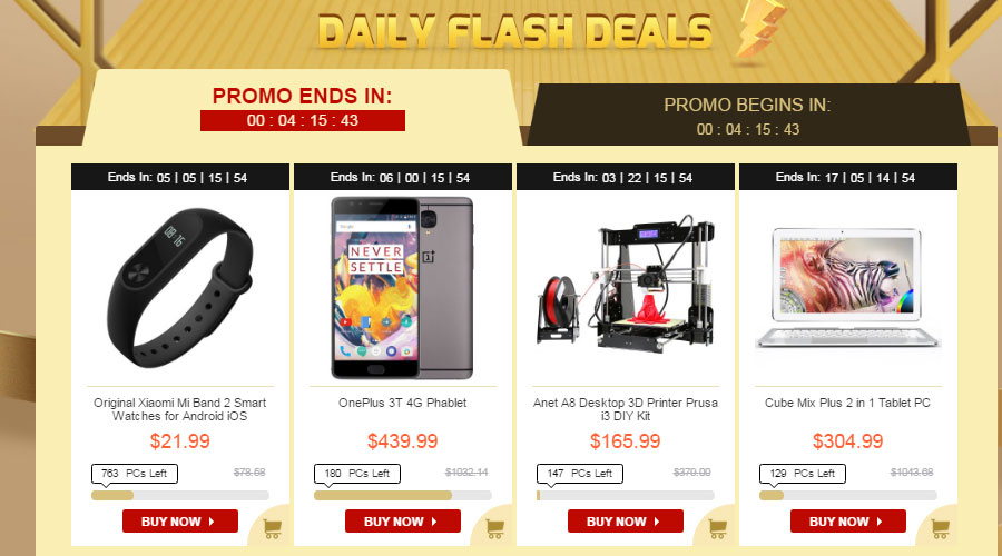 daily Flash Deals