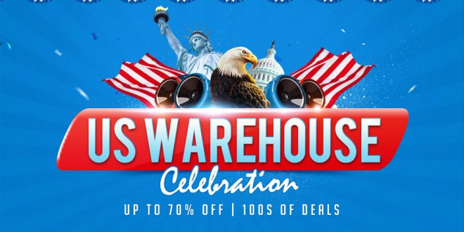 GearBest 3rd Anniversary Sale Day 4: US Warehouse Extreme Couponing Deals this Week