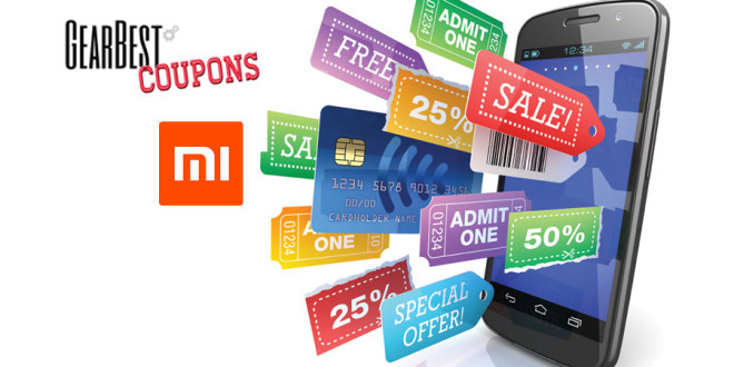 Exclusive Xiaomi Product Coupons and Be prepared for Gearbest 3rd Anniversary