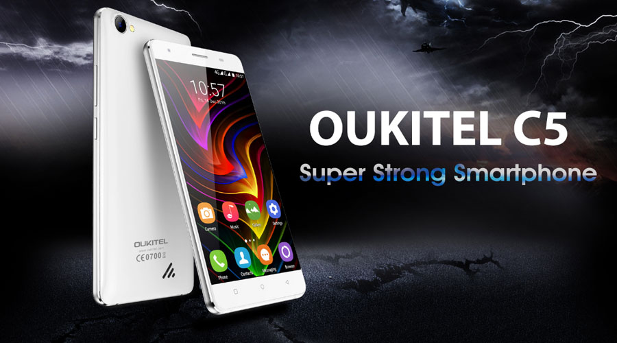 Oukitel C5 price in UK