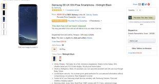 Samsung S8 UK Price
