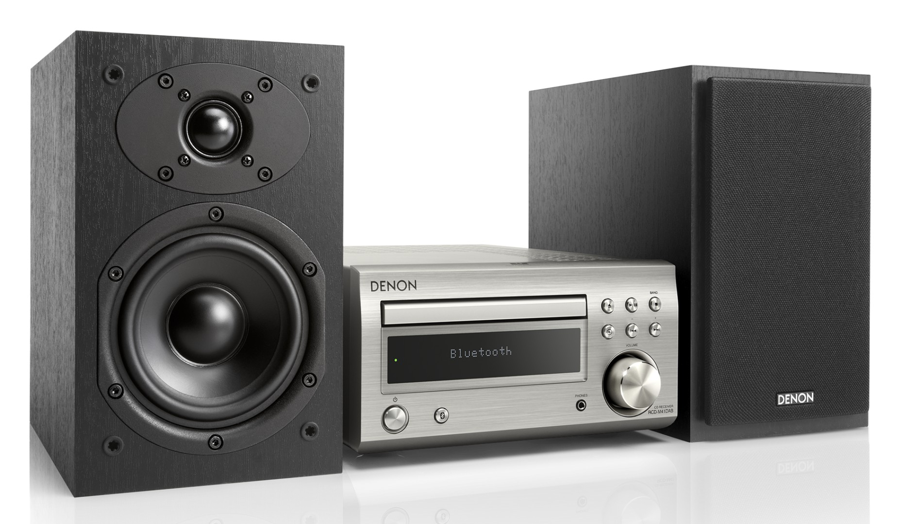 denon d m41dab compact hifi system with bluetooth. Black Bedroom Furniture Sets. Home Design Ideas